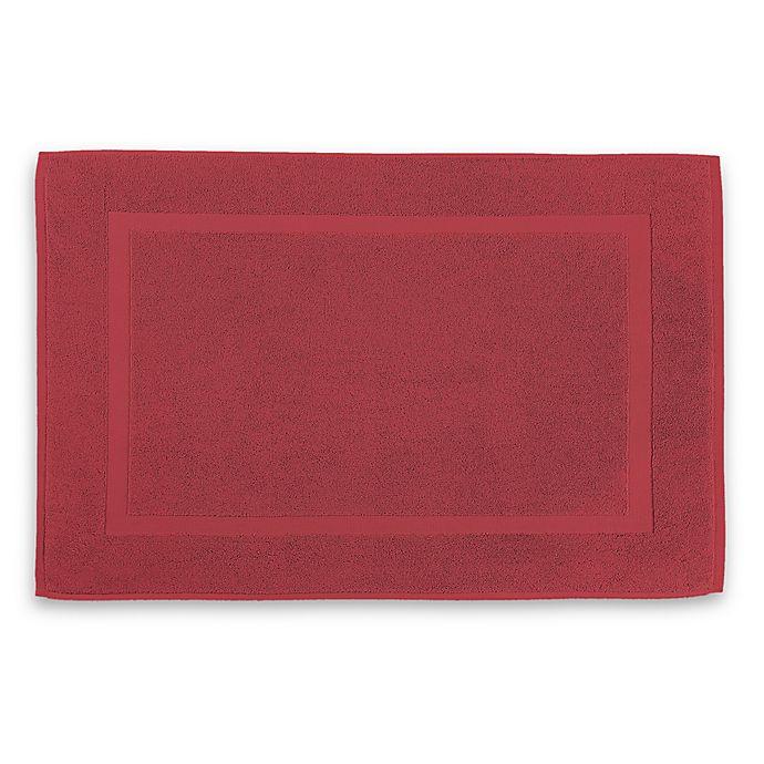 Alternate image 1 for Wamsutta® 805 Turkish Cotton Bath Mat in Garnet