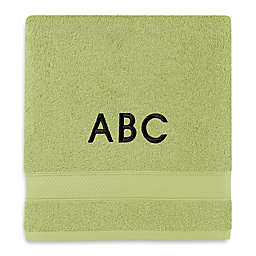 Monogrammed  Wamsutta®  Hygro® Duet Bath Towel in Pear