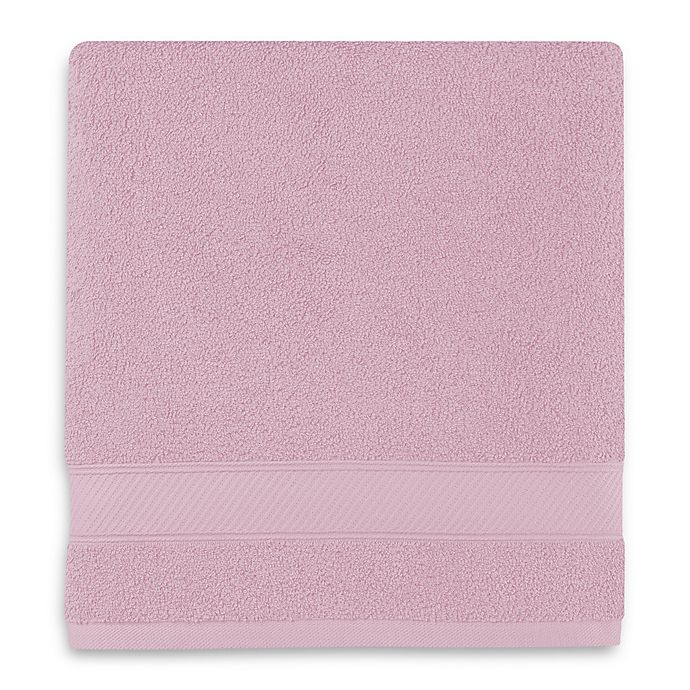 Alternate image 1 for Wamsutta® Hygro® Duet Bath Towel in Orchid Ice