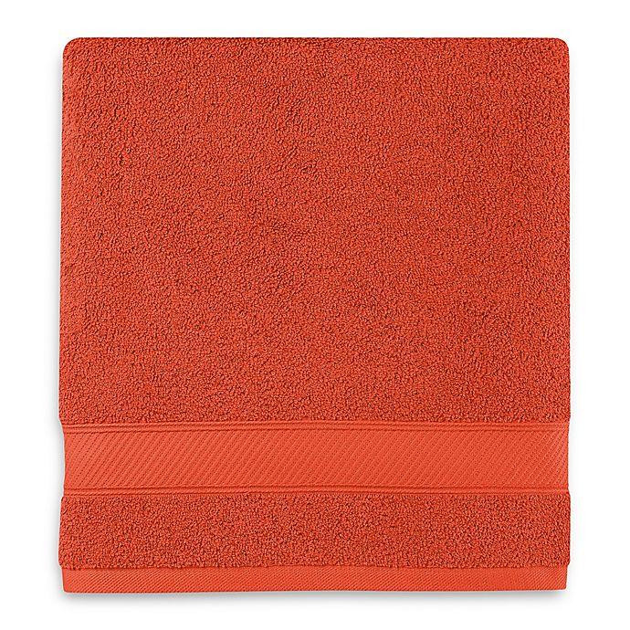 Alternate image 1 for Wamsutta® Hygro® Duet Bath Towel in Paprika