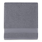 Wamsutta® Hygro® Duet Bath Towel in Pewter