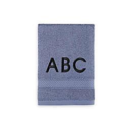 Monogrammed  Wamsutta® Hygro® Duet Hand Towel in Slate