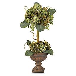 Nearly Natural 24-Inch Artichoke Topiary Silk Flower Arrangement