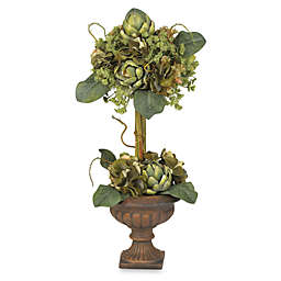 Nearly Natural 24-Inch Artichoke Topiary Silk Flower Arrangement