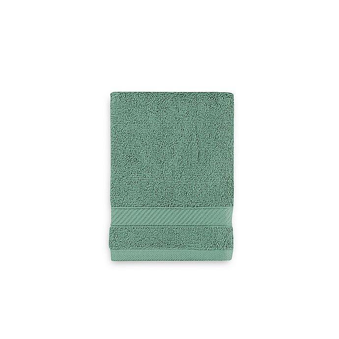 Alternate image 1 for Wamsutta® Hygro® Duet Washcloth in Spruce