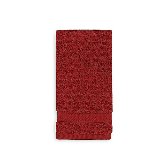 Alternate image 1 for Wamsutta® Hygro® Duet Fingertip Towel in Wine