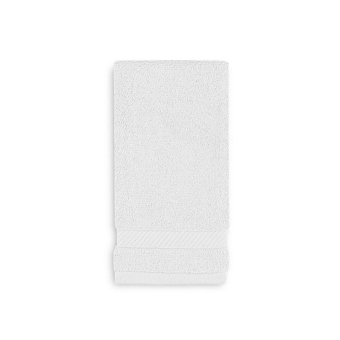 Alternate image 1 for Wamsutta® Hygro® Duet Fingertip Towel in White
