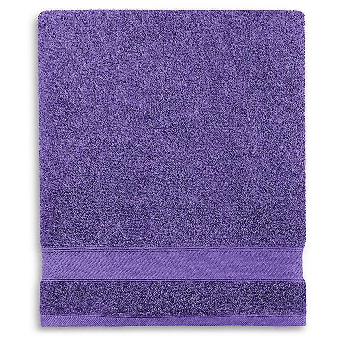 Alternate image 1 for Wamsutta® Hygro® Duet Bath Sheet in Grape
