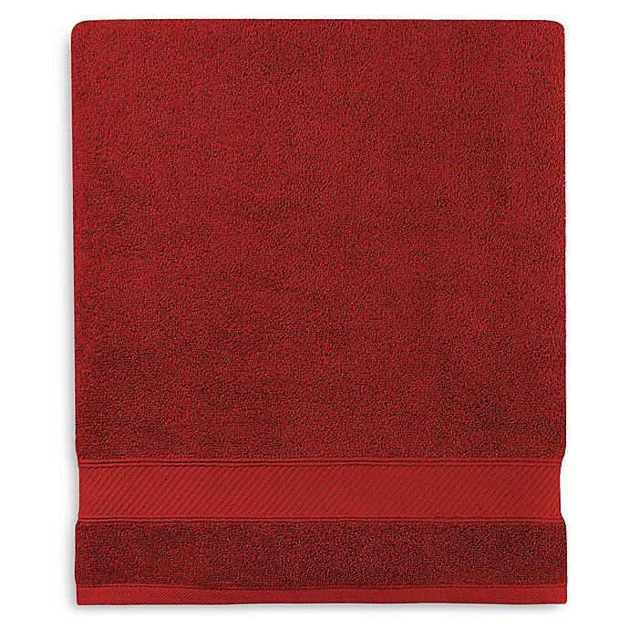 Alternate image 1 for Wamsutta® Hygro® Duet Bath Sheet in Wine