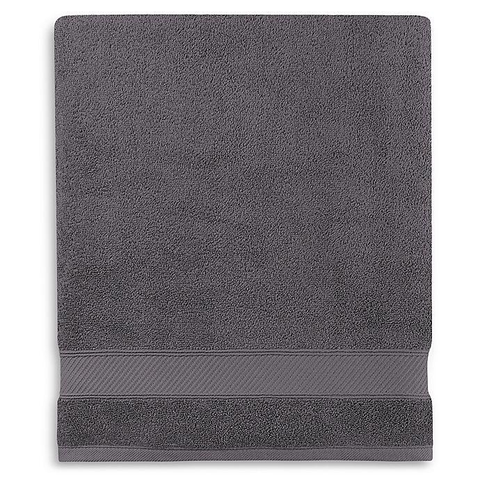 Alternate image 1 for Wamsutta® Hygro® Duet Bath Sheet in Iron