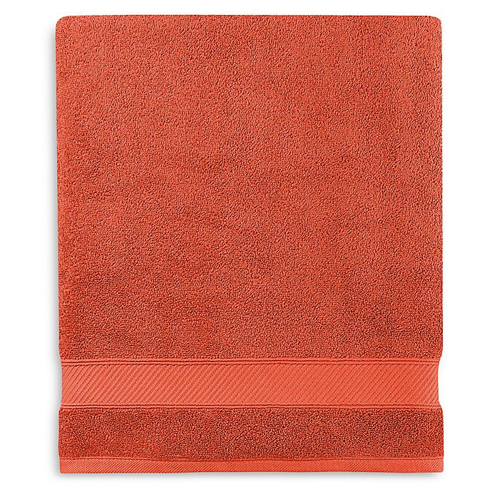 Alternate image 1 for Wamsutta® Hygro® Duet Bath Sheet in Paprika