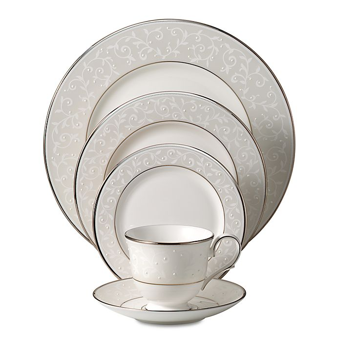 Alternate image 1 for Lenox® Opal Innocence Dinnerware Collection