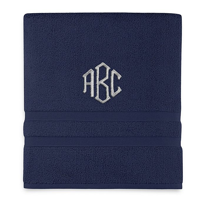 Alternate image 1 for Monogrammed  Wamsutta®  Ultra Soft MICRO COTTON Bath Towel