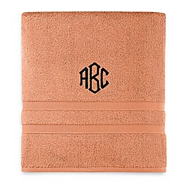 Monogrammed  Wamsutta®  Ultra Soft MICRO COTTON Bath Towel