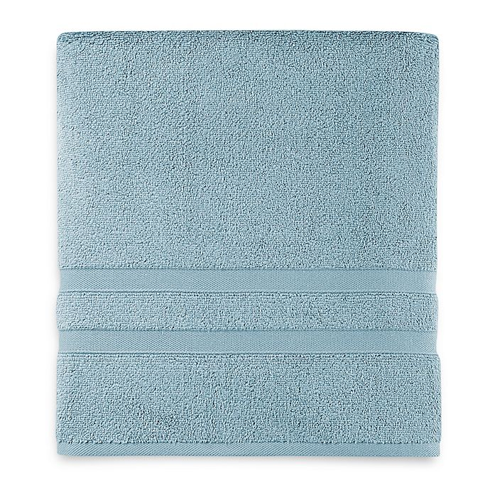 Alternate image 1 for Wamsutta® Ultra Soft MICRO COTTON® Bath Towel in Aqua