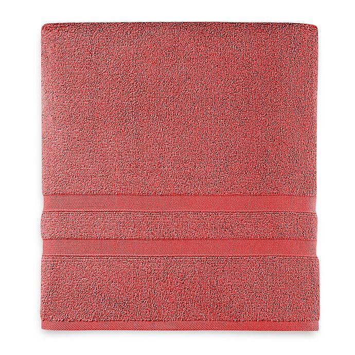 Alternate image 1 for Wamsutta® Ultra Soft MICRO COTTON® Bath Towel in Slate Rose