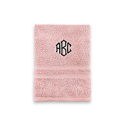 Monogrammed  Wamsutta® Ultra Soft MICRO COTTON Hand Towel in Rose