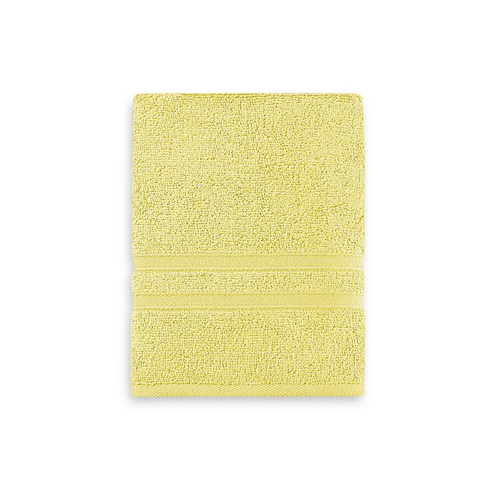 Alternate image 1 for Wamsutta® Ultra Soft MICRO COTTON® Hand Towel in Lemon