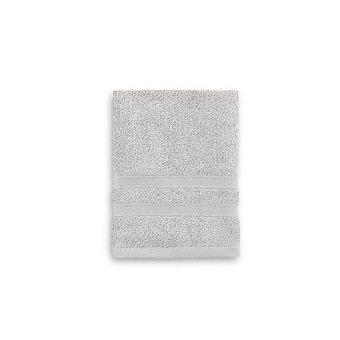Alternate image 1 for Wamsutta® Ultra Soft MICRO COTTON® Washcloth in Grey