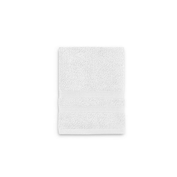 Alternate image 1 for Wamsutta® Ultra Soft MICRO COTTON® Washcloth in White