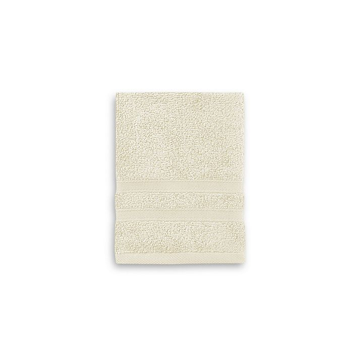 Alternate image 1 for Wamsutta® Ultra Soft MICRO COTTON® Washcloth in Ivory