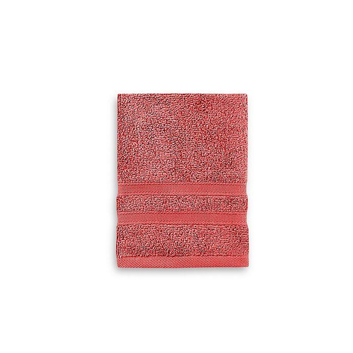 Alternate image 1 for Wamsutta® Ultra Soft MICRO COTTON® Washcloth in Slate Rose