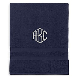 Monogrammed  Wamsutta®  Ultra Soft MICRO COTTON Bath Sheet