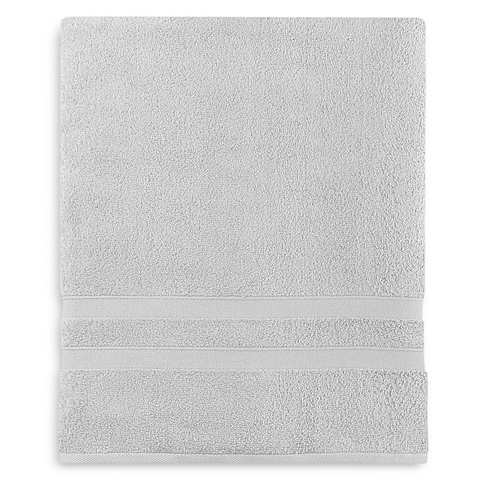 Alternate image 1 for Wamsutta® Ultra Soft MICRO COTTON® Bath Sheet in Silver