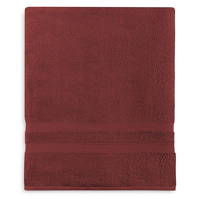 Alternate image 1 for Wamsutta® Ultra Soft MICRO COTTON® Bath Sheet in Garnet