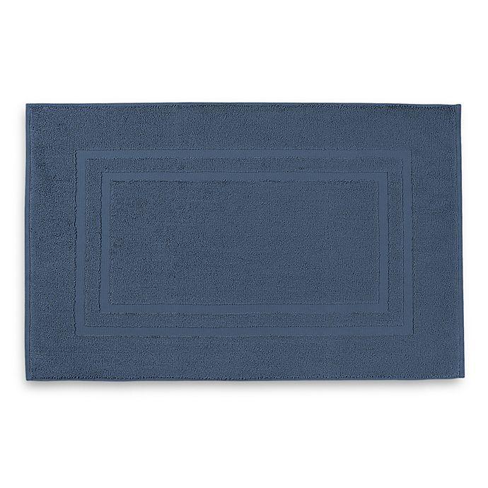 Alternate image 1 for Wamsutta® Ultra Soft MICRO COTTON® Bath Mat in Lake