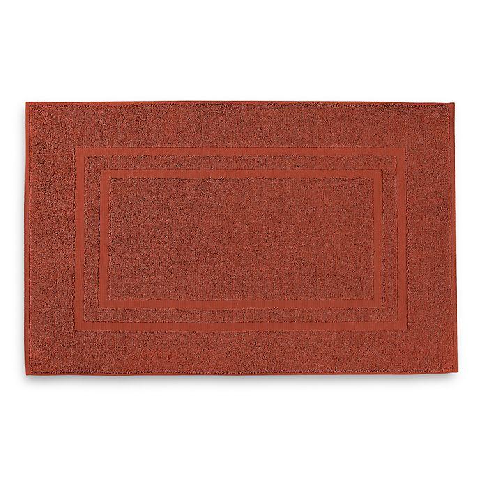 Alternate image 1 for Wamsutta® Ultra Soft MICRO COTTON® Bath Mat in Rusty Coral