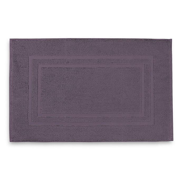 Alternate image 1 for Wamsutta® Ultra Soft MICRO COTTON® Bath Mat in Black Plum