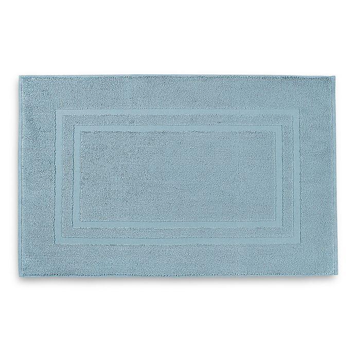 Alternate image 1 for Wamsutta® Ultra Soft MICRO COTTON® Bath Mat in Aqua