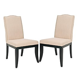 Safavieh Wayne Side Chairs in Sand (Set of 2)