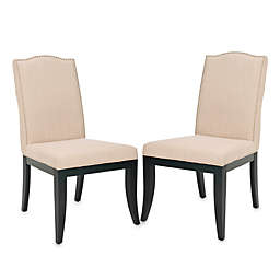 Safavieh Wayne Side Chairs in Sand (Set of 2)