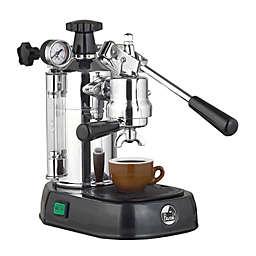 La Pavoni® PBB-16 Professional 16-Cup Espresso/Cappucino Machine in Chrome/Black