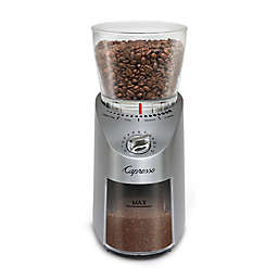 Capresso® Infinity Plus Die-Cast Stainless Steel Conical Burr Coffee Grinder