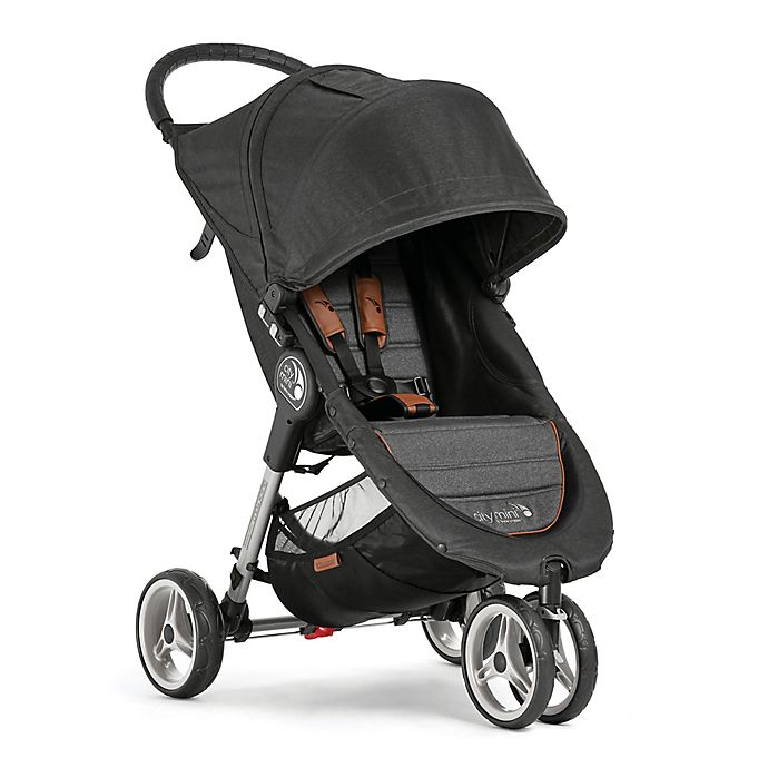 Alternate image 1 for Baby Jogger® Anniversary City Mini® 3-Wheel Single Stroller in Grey