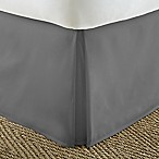 Home Collection Pleated Queen Bed Skirt in Grey