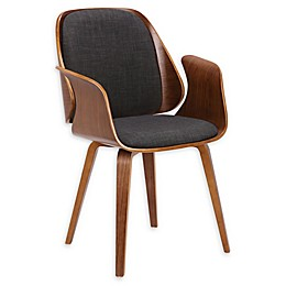 Armen Living Tiffany Upholstered Dining Chair