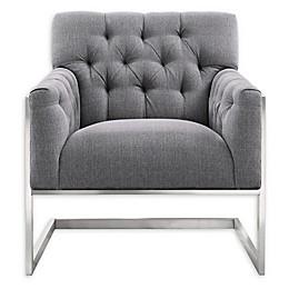 Armen Living® Emily Chair in Grey