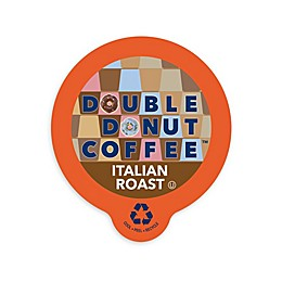 Double Donut Coffee™ Italian Roast Coffee Pods for Single Serve Coffee Makers 80-Count