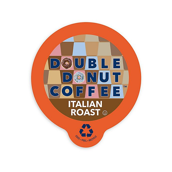 Alternate image 1 for 80-Count Double Donut Coffee™ Italian Roast Coffee for Single Serve Coffee Makers