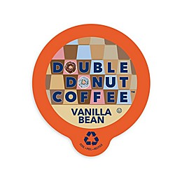 Double Donut Coffee™ Vanilla Bean Coffee Pods for Single Serve Coffee Makers 80-Count