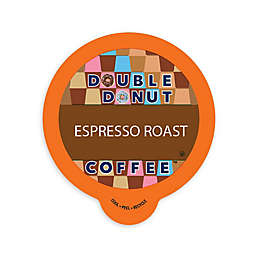 Double Donut Coffee™ Espresso Roast Coffee Pods for Single Serve Coffee Makers 80-Count
