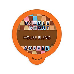 Double Donut Coffee™ House Blend Coffee Pods for Single Serve Coffee Makers 80-Count