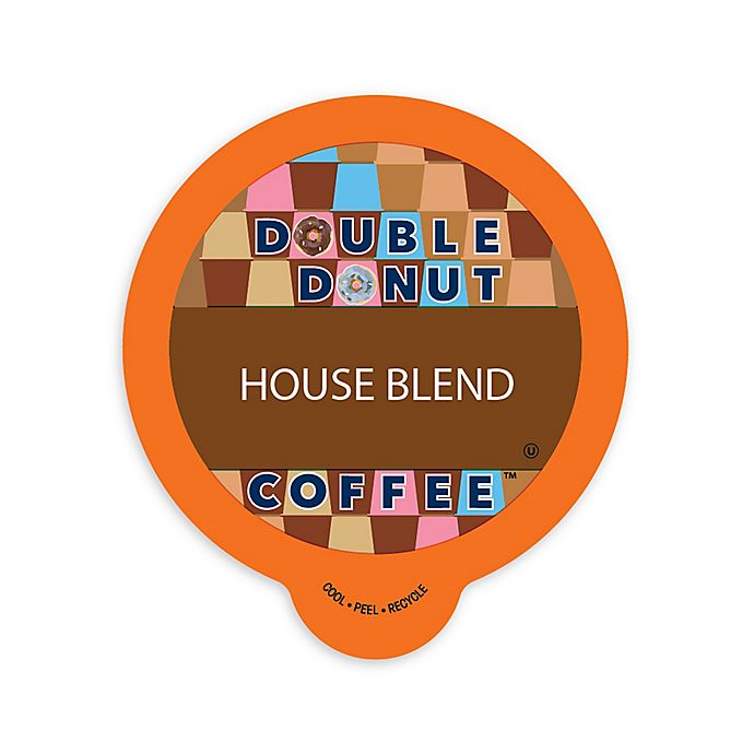 Alternate image 1 for Double Donut Coffee™ House Blend Coffee Pods for Single Serve Coffee Makers 80-Count