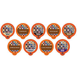 Double Donut Coffee™ Variety Pack Sampler Pods for Single Serve Coffee Makers 80-Count