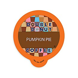 Double Donut Coffee™ Pumpkin Pie Coffee Pods for Single Serve Coffee Makers 80-Count