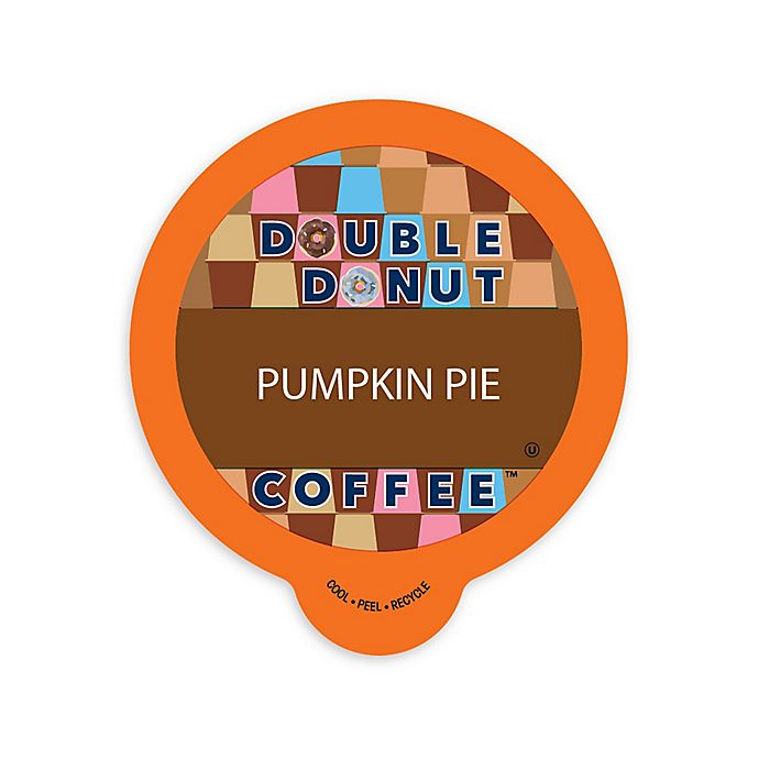 Alternate image 1 for Double Donut Coffee™ Pumpkin Pie Coffee Pods for Single Serve Coffee Makers 80-Count